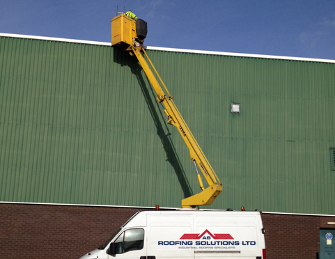 Roof Maintenance Contracts, Industrial Roof Repairs